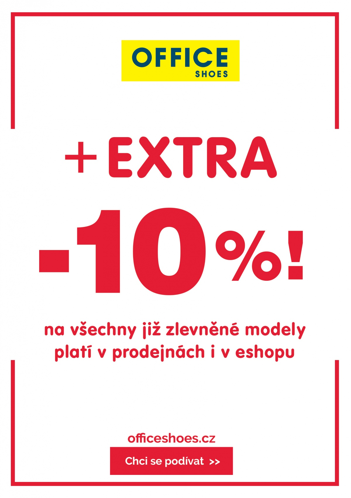 0a554a0ab8 Zlaté jablko - V Office Shoes jsme přidali EXTRA slevu -10%!