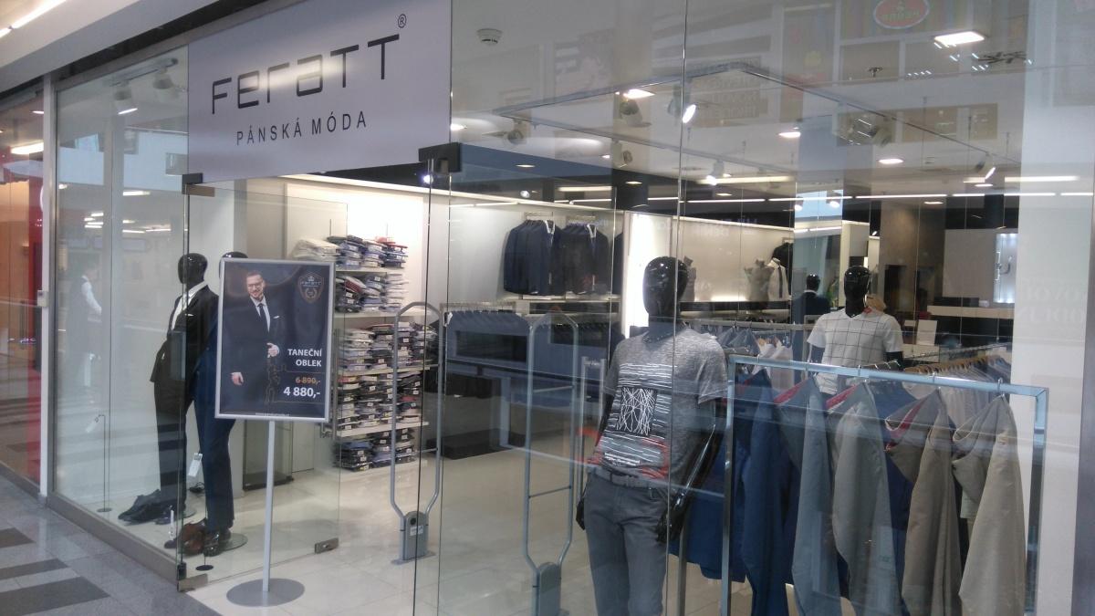 Prodejna pánské módy FERATT přemístěna ... bd29c73dd41