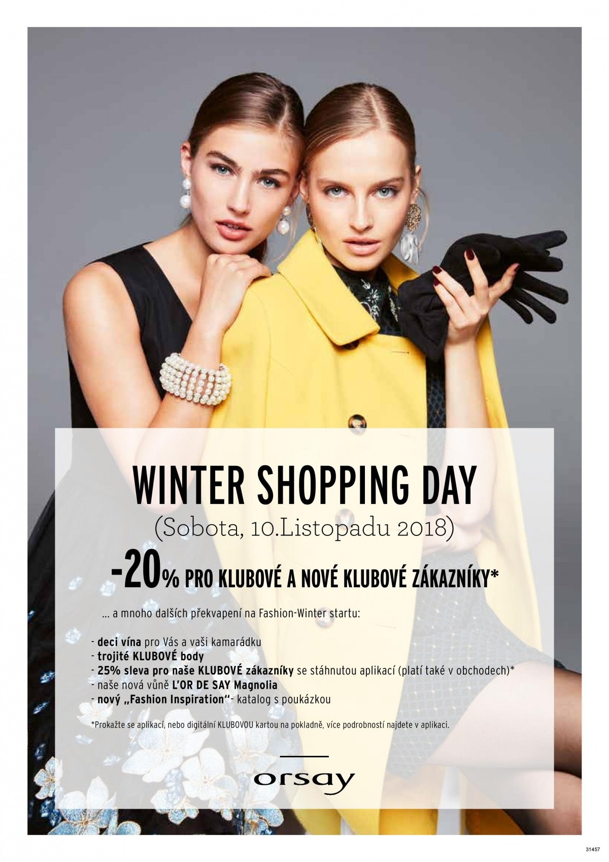 d486b698d6a Winter Shopping Day v Orsay v sobotu 10. listopadu!