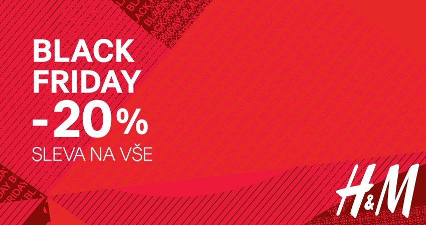 BLACK FRIDAY V H M   SLEVA 20% NA VŠECHNO! e9c3b56883