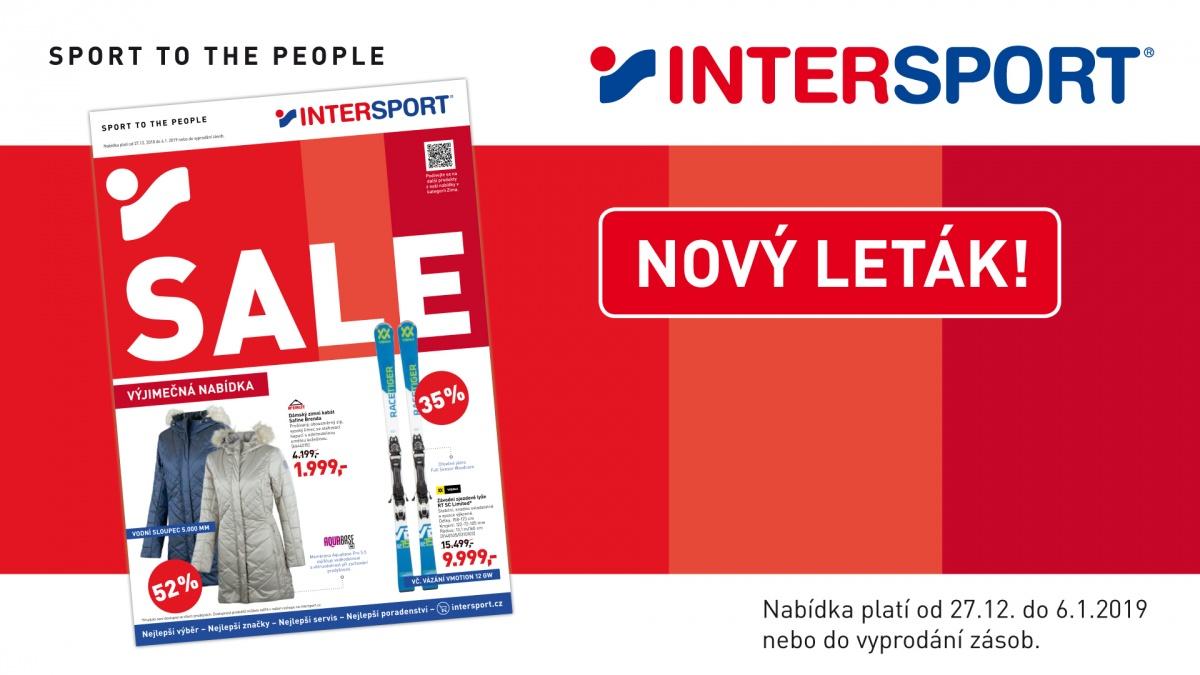 Nový leták INTERSPORT! 9b74c67cee