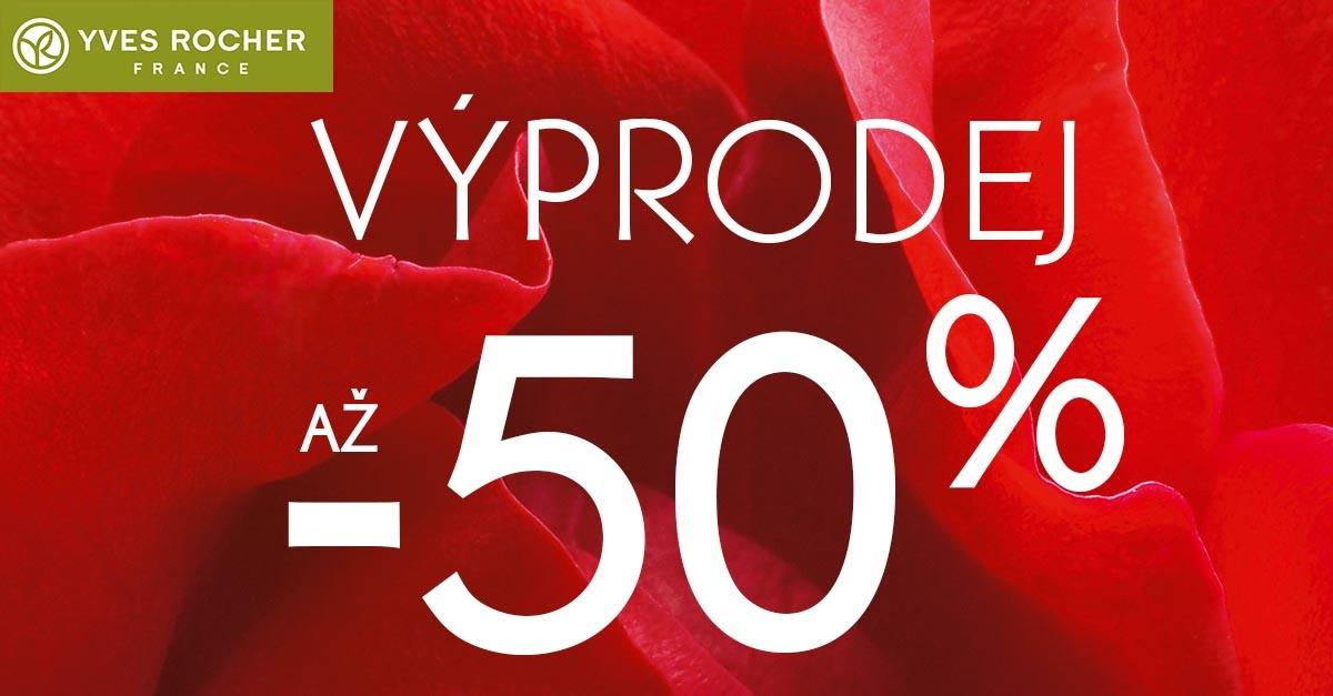 Povánoční výprodeje v Yves Rocher odstartovaly! Užijte si slevu až – 50%! 76f2714d9e