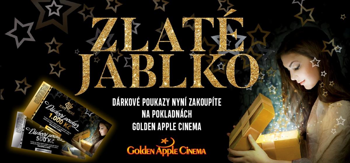 Prodej dárkových poukazů Zlatého jablka přesunut na pokladny Golden Apple  Cinema 8482e7cc86