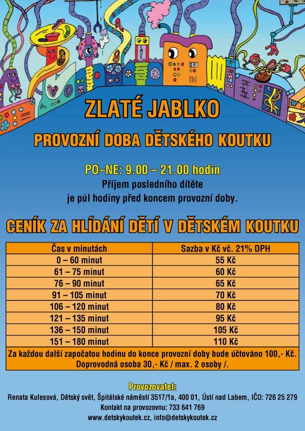 Nový ceník dětského koutku a1b162924f