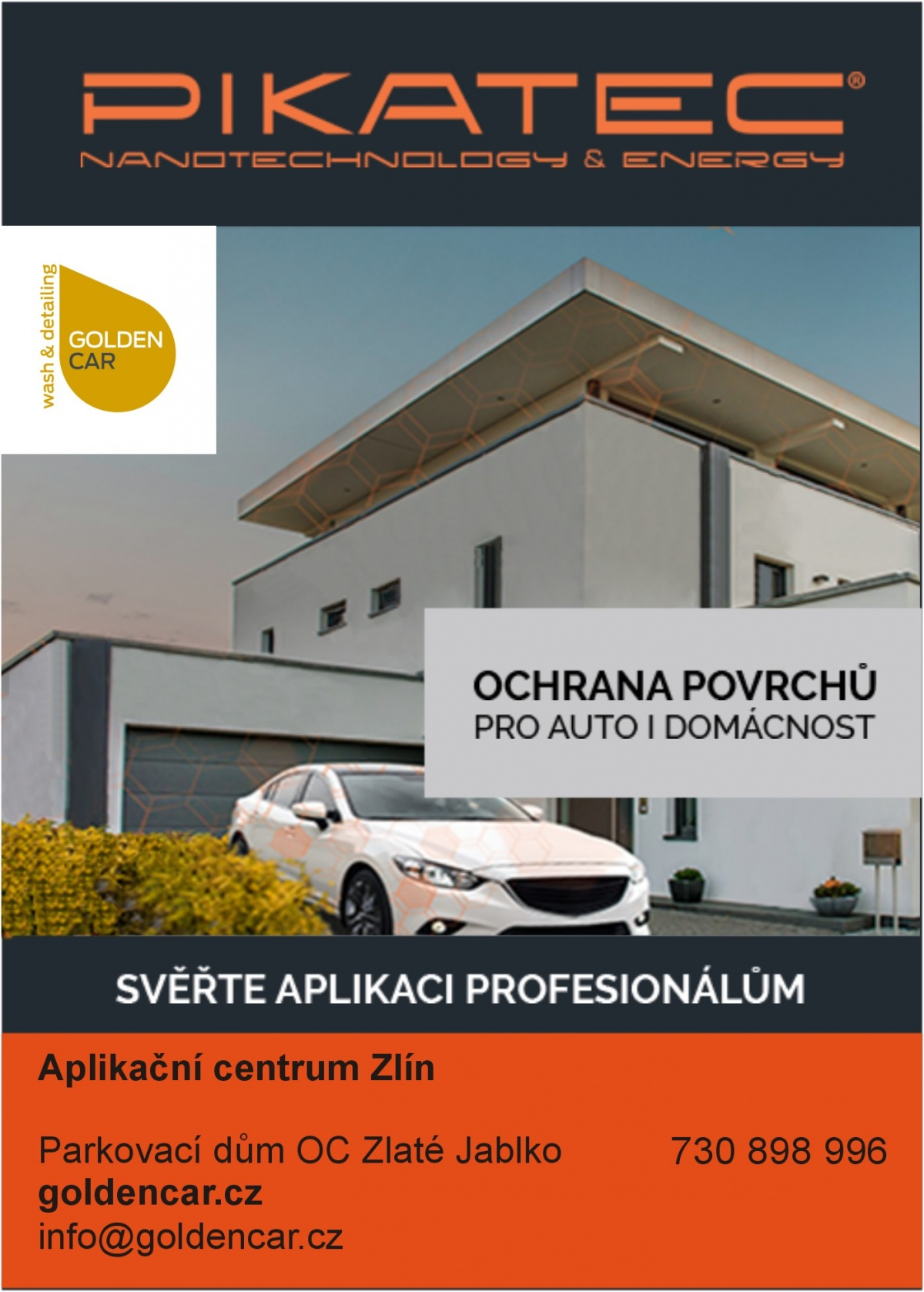 Aplikační centrum Pikatec v automyčce Golden Car 36f02ad253