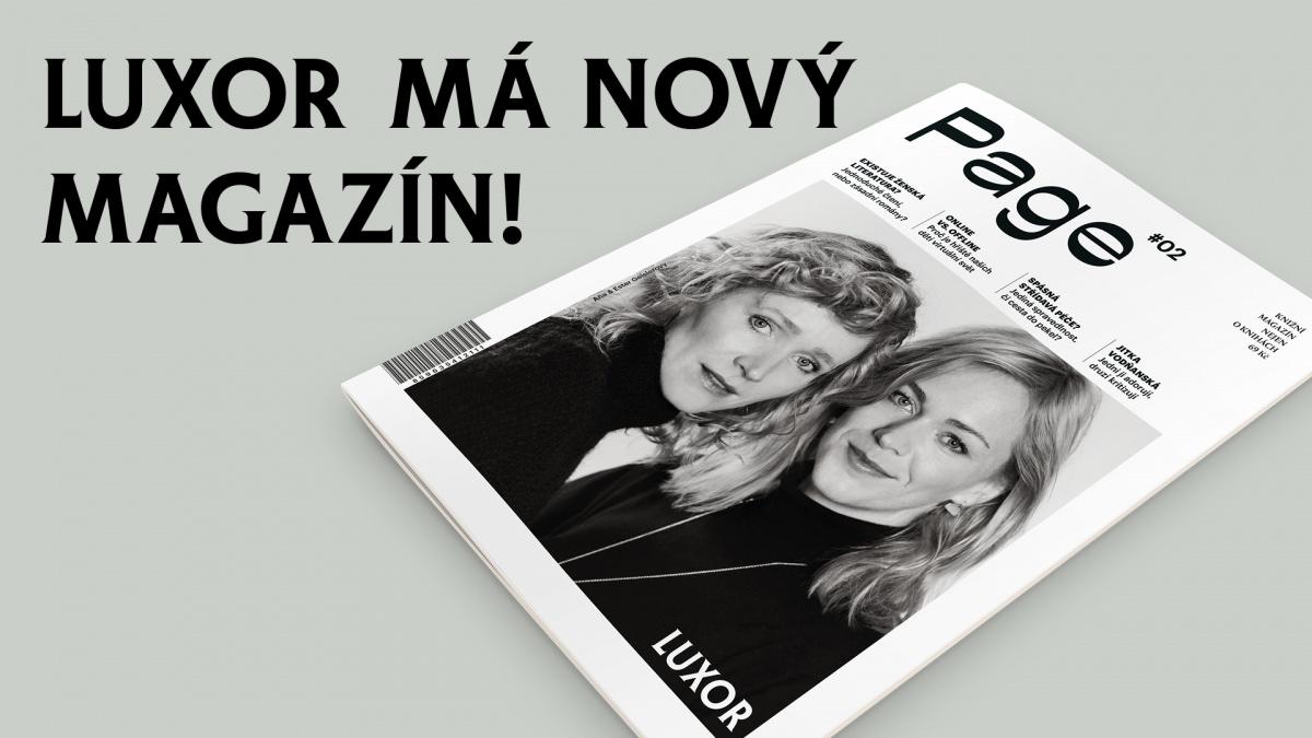 99db687e8c2 Knihkupectví LUXOR představuje nový magazín Page