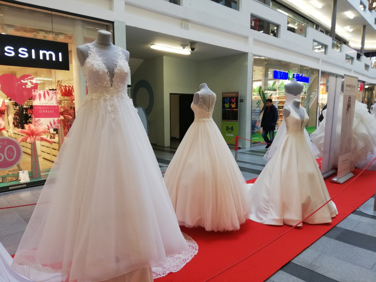 c7efe6765b6 ... Výstava svatebních šatů a Valentýn ve Zlatém jablku ...