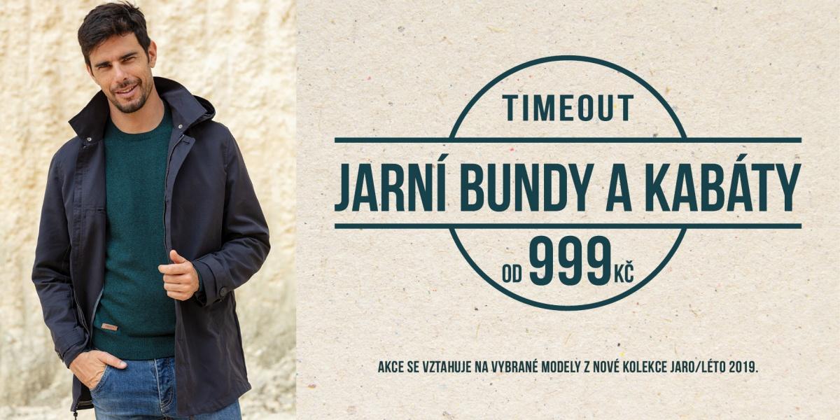 Jarní bundy a kabáty v Timeout od 999Kč! 357c8b2e1da