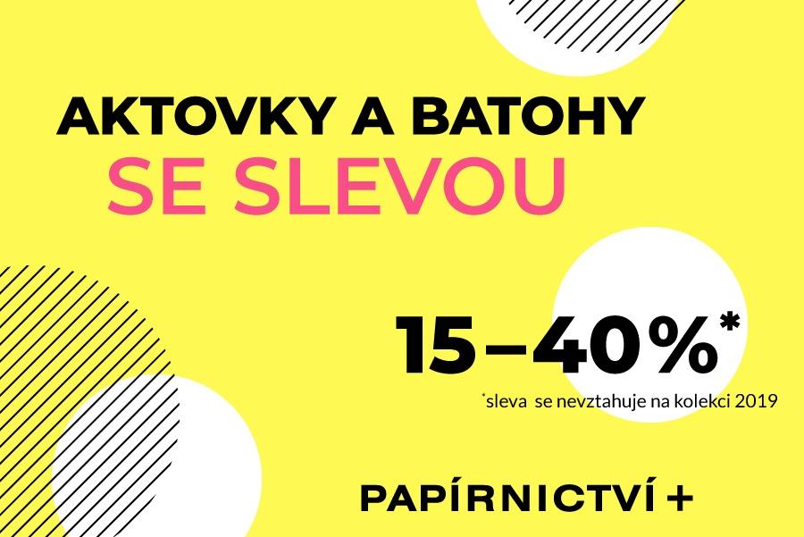 a6b6992e6 2019 Sezónní slevy a novinky v Papírnictví+ od 1. 4.