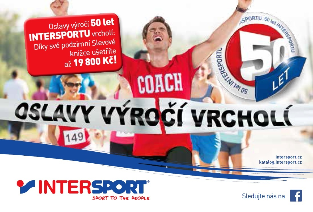 90c844402b6 Na podzim v kondici s Intersportem!