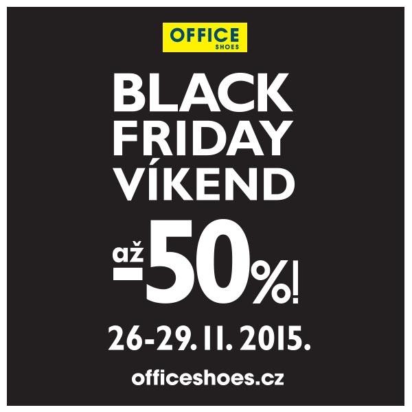 6cf551a0ba Black Friday Víkend v OFFICE SHOES - slevy až do -50%!