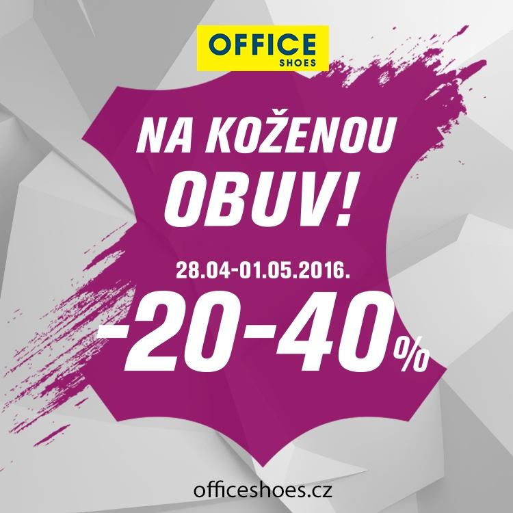 2efe2ab240 Slevy na koženou obuv v Office Shoes od 20-40%!