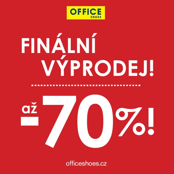 Finální výprodej slevy až do – 70% na vybrané modely 61b6745e7e